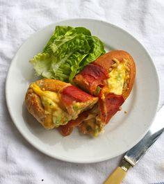 Warm&Snug&Fat: baked brunch baguette