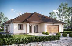 Idealny projekt domu dla rodziny z małymi dziećmi - Projekt - Budowa - Infor.pl