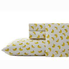 Nine Palms Banana Print Sheet Set