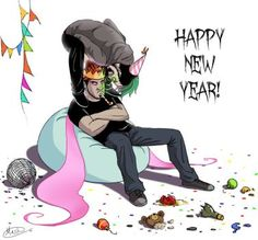 New year special - Party kind'a hard by on DeviantArt<<<me too, Dark Pewdiepie, Markiplier Memes, Antisepticeye Fanart, Darkiplier And Antisepticeye, Danti, Youtube Memes, New Year Special, Jack And Mark, I Like Him