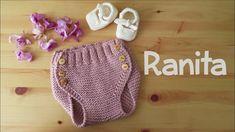 Ranita o cubrepañal para bebé - YouTube
