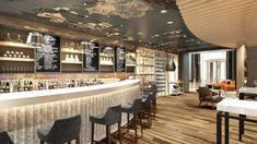 Corto Restaurant, Radisson Blu Hotel, Dubai, Media City, MKV Design