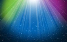 Rays of Color desktop wallpaper