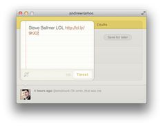 Wren is a beautiful and simple Mac Twitter app (no timeline). $4.99 #twitter #mac #app
