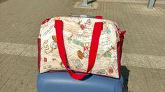 Praktische Reisetasche im Vintage Look Handmade, made in Germany