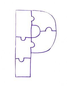 Image detail for -Letter P Is For Painted Puzzle Craft and Song