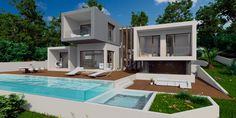 Modern Eco home design, commissioned by us and only exclusively available at Escape dream homes.