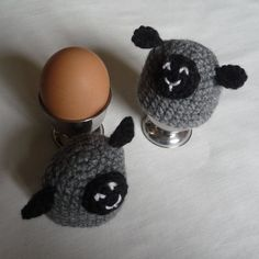Sheep Egg Cosies and Egg Cups Set £10.00 ~ ITEM FOR SALE. Link correct when I checked on 04/09/2015