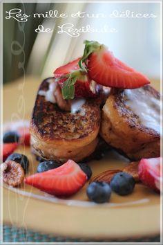 Quand les matins sont à la course, le déjeuner en prend souvent un coup. Voici une belle idée gourmande pour vous mettre en appétit!! Pain...