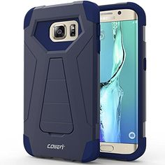 Samsung Galaxy S6 Edge Case, Collen® [Air Buffer Corners] Reinforced bumper protection [DUAL LAYER] Ultimate protection for Samsung Galaxy S6 Edge - Blue A01 collen http://www.amazon.com/dp/B016UT4OZ6/ref=cm_sw_r_pi_dp_AYtAwb1ZKDFVJ