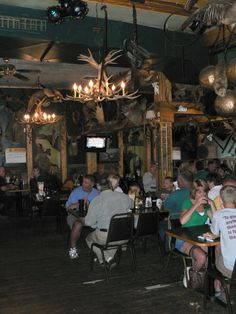 People come from all around to eat at the famous Antler's Restaurant in Sault Ste. Marie, MI. While enjoying anything from mouth watering venison burgers to fresh whitefish, look around at over 200 mounted animals.