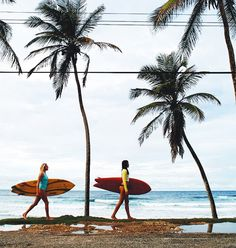 13 Style Secrets I Learned from the Coolest Surfer Girls on the Planet via @WhoWhatWear