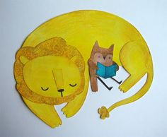 The Owl and The Lion by Debbie Greenaway
