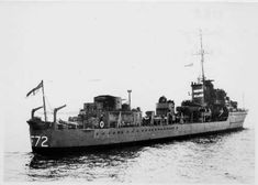 HMS Jersey (F 72) of the Royal Navy - British Destroyer of the J class - Allied Warships of WWII - uboat.net