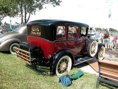 1929 Ford Model A Sedan | 1929 FORD MODEL A TOWN SEDAN, REAR | Flickr - Photo Sharing!