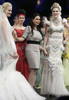 Designer Haya al Houti from Kuwait at Couture Fashion Week New York