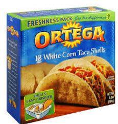 Ortega Taco Shells for $0.65 at Stop & Shop (3/24)