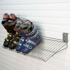 Don't forget to design a space for boots and sports equipment storage.