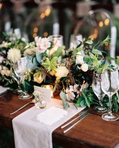 """See the """"The Place Settings"""" in our Jackie and Ross's Elegant Nashville Wedding With a Surprise Ending gallery"""