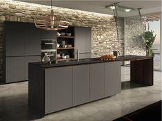 Cuisine intégrée avec portes laquées FORMA MENTIS - PORTE LAQUEE by VALCUCINE