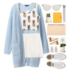 """Cruising."" by banayana ❤ liked on Polyvore featuring Madewell, Converse, BCBGMAXAZRIA, Dolce&Gabbana, rms beauty, Disney, Dot & Bo, Hermès and philosophy"