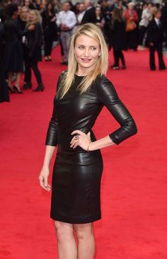 Cameron Diaz attends UK Gala premiere of The Other Woman