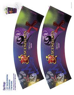 Wrappers de Descendientes para Fiesta temática