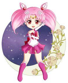 Sailor Chibi Moon by Klimene.deviantart.com on @DeviantArt