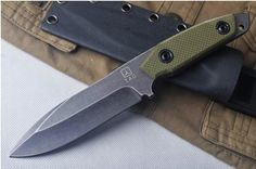 Strider Knives 9cr18mov Fixed Blade G10 Handle Hunting Knife Camping Survival Knife Mtech Knives Buck Knife Survival Kits From Manwild, $41.89| Dhgate.Com