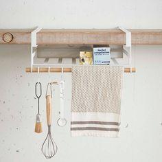 キッチン収納収納ラック戸棚下収納ラックtoscaLホワイト