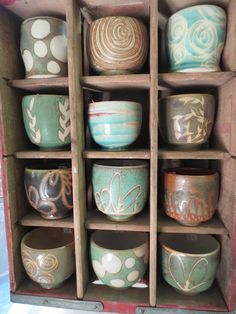 Covington Pottery - a year of pots