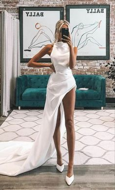 Elegant Dresses, Pretty Dresses, Beautiful Dresses, Formal Dresses, Gala Dresses, Evening Dresses, Elegantes Outfit, Prom Outfits, Mode Inspiration