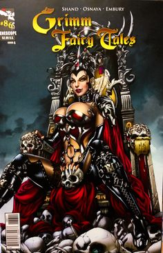 Grimm fairy tales 86 cover A, artist Mike Krome