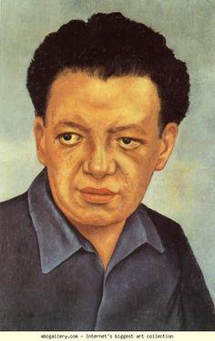 Frida Kahlo. Portrait of Diego Rivera.