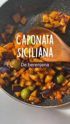 Vegetarian Appetizers, Vegetarian Recipes, Healthy Recipes, Vegetable Salad, Vegetable Side Dishes, Healthy Cooking, Cooking Recipes, Sicilian Recipes, Plant Based Recipes
