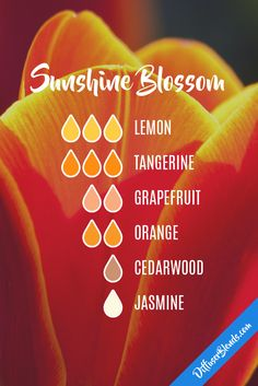 Sunshine blossom FREE Delivery on all UK orders 10% of on all orders in June Enter Discount code EB17 at checkout www.essentialoilproducts.co.uk