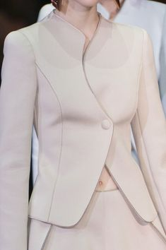 Emporio Armani coat with dress Blazer Fashion, Fashion Outfits, Womens Fashion, Fashion Trends, Fashion Coat, Milan Fashion, Emporio Armani, Suits For Women, Jackets For Women