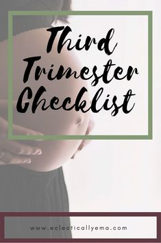 The third trimester is a wonderful, uncomfortable, nervous time. Ive listed 23 points below that are important to do in your third trimester. All About Pregnancy, Pregnancy Advice, Pregnancy Signs, Trimesters Of Pregnancy, Pregnancy Workout, Tips For Pregnant Women, Baby Checklist, Second Trimester, Preparing For Baby