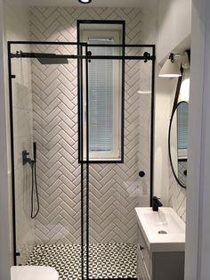 Small Bathroom Sinks, Loft Bathroom, Bathroom Design Small, Bathroom Interior Design, Small Shower Room, Toilet Design, White Home Decor, Bathroom Renovations, Bathroom Inspiration