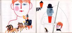 Hana Stepanova Vintage Illustrations, Hana