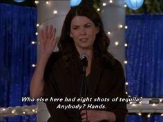 Gilmore Girls - Lauren Graham as Lorelei Gilmore Tv Quotes, Girl Quotes, Humor Quotes, Movie Quotes, Movie Memes, Girl Memes, Favorite Person, Favorite Tv Shows, Favorite Things