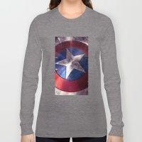 SHIELD CAPTAIN Long Sleeve T-shirt
