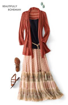Awesome look for fall - AND I can wear it & look GOOD!