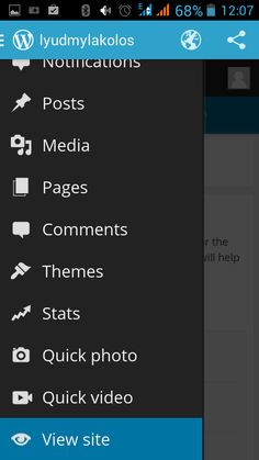 One of the benefits that WordPress users can make use of is that it's possible to manage your WordPress blog right from your smartphone.