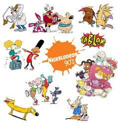 Nickelodeon 90`S