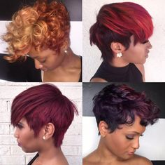 Fall colors via @msklarie  Read the article here - http://www.blackhairinformation.com/hairstyle-gallery/fall-colors-via-msklarie/