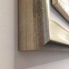 fluidofiume cornici su misura in legno argento oro