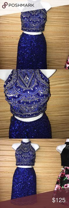 Two Piece Homecoming or Prom Dress Size 6  Prom or homecoming dress. Absolutely stunning! Dresses Prom