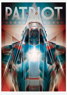 Iron Patriot by Orlando Arocena