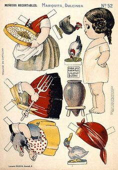 Vintage Paper Dolls* 1500 free paper dolls for small Christmas gits and DIY for Pinterest pals The International Paper Doll Society Arielle Gabriel artist ArtrA Linked In QuanYin5 *